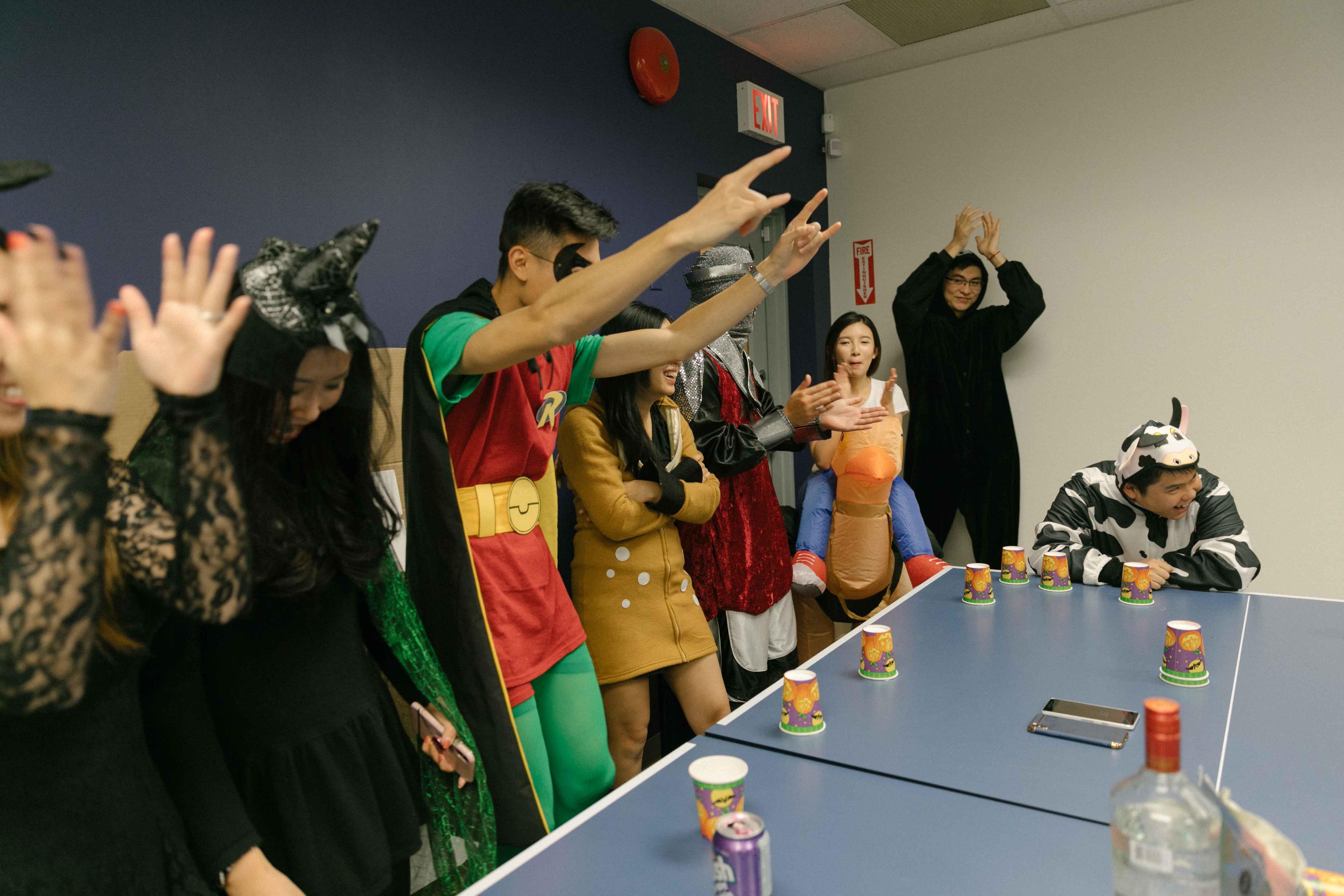 Company Halloween party